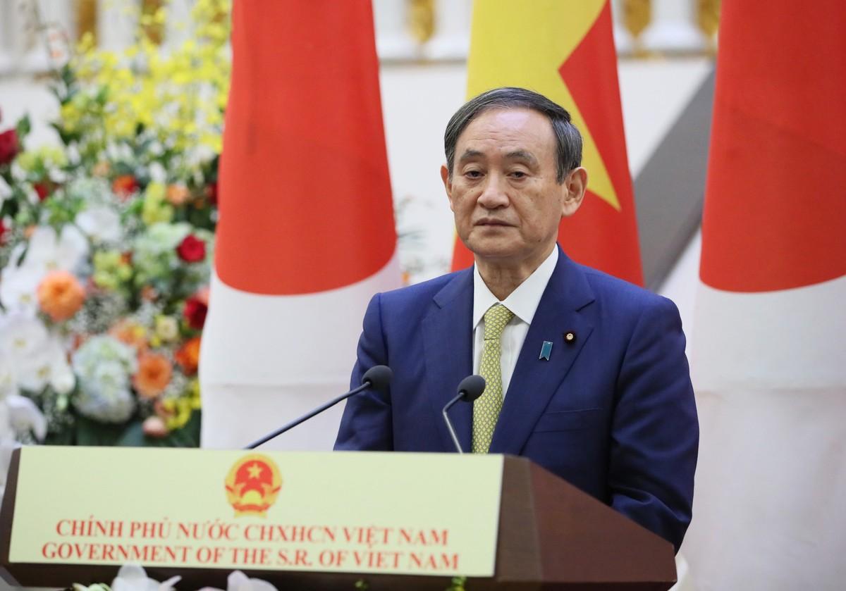 Thủ tướng Nguyễn Xuân Phúc chủ trì lễ đón Thủ tướng Nhật Bản ảnh 12
