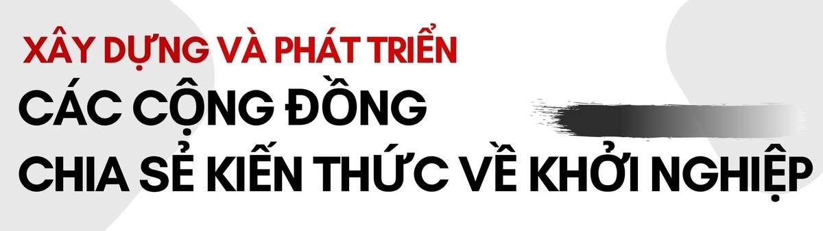 CEO Bùi Trần Phi Long: Việt Nam cần có cộng đồng chia sẻ kiến thức khởi nghiệp ảnh 10