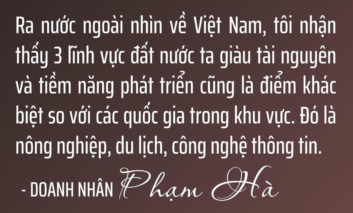 Chủ tịch Lux Group Phạm Hà: Chúng ta không thể thay đổi hướng gió, nhưng có thể thay đổi cánh buồm ảnh 30