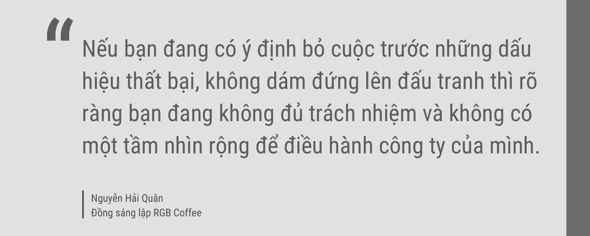 """Nguyễn Hải Quân, sáng lập RGB Coffee: """"Sự tinh tế là giá trị cốt lõi khiến khách hàng cảm thấy an tâm"""" ảnh 13"""
