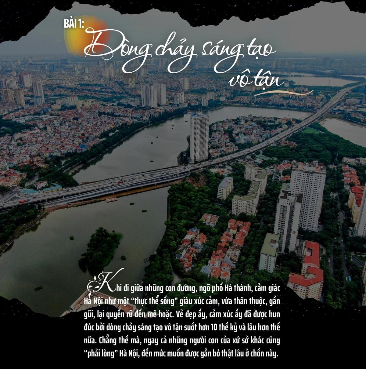 Hà Nội - Thành phố ngàn năm sáng tạo (Bài 1): Dòng chảy sáng tạo vô tận ảnh 2