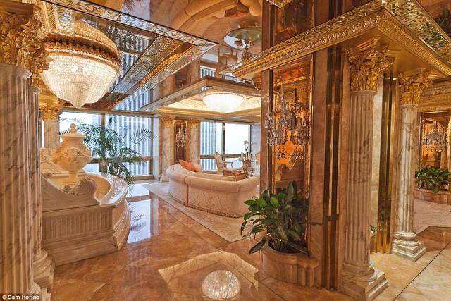 New York tốn 308.000 USD/ngày để bảo vệ nhà ông Trump ảnh 1