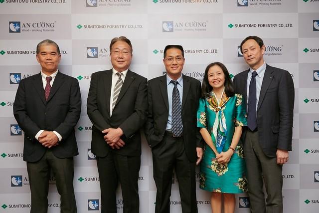 Gỗ An Cường và Tập đoàn Sumitomo Forestry hợp tác đầu tư chiến lược ảnh 1
