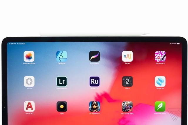 Ảnh thực tế iPad Pro 2018 viền siêu mỏng ảnh 2