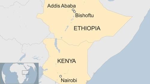 Máy bay chở 157 người rơi ở Ethiopia ảnh 1