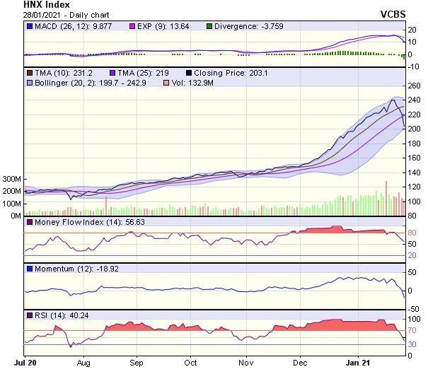 Góc nhìn kỹ thuật phiên giao dịch chứng khoán ngày 29/1: Nhiều khả năng VN-Index sẽ có thêm nhịp lao dốc ảnh 2