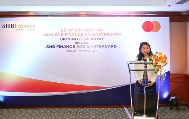 Công ty Tài chính SHB bắt tay cùng MasterCard cung cấp thẻ tín dụng quốc tế cho khách hàng ảnh 2