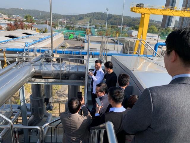 Hàn Quốc chuyển giao công nghệ xử lý nước thải cho Tập đoàn Sơn Hà ảnh 1