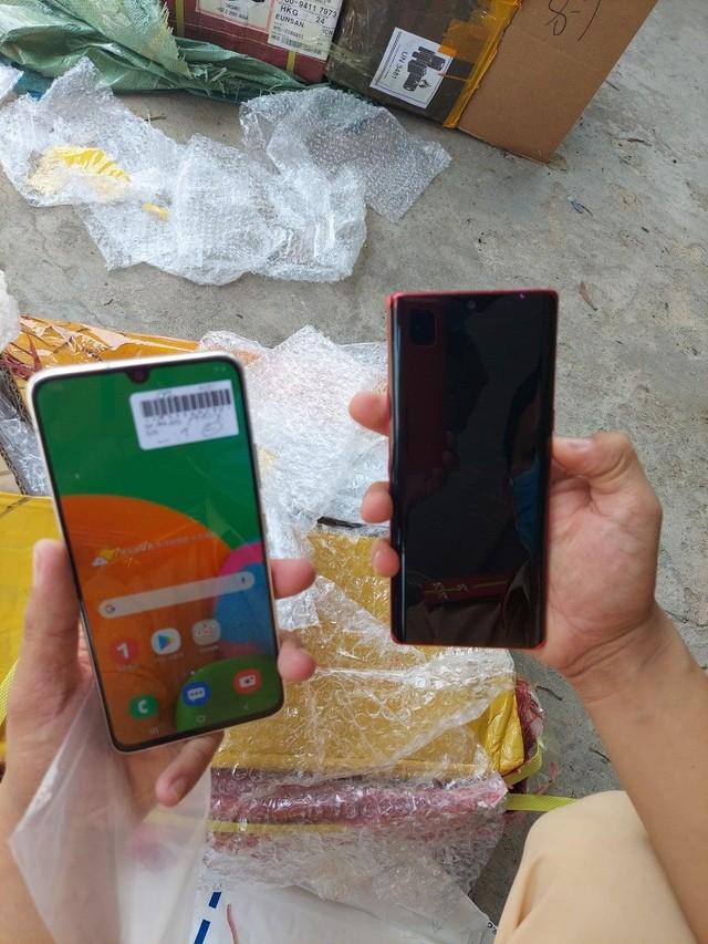 Bắt giữ hơn 7.500 điện thoại Iphone, Samsung có dấu hiệu nhập lậu tại Bình Phước ảnh 2