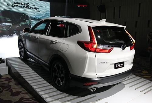 Honda CR-V 7 chỗ giá cao nhất 1,1 tỷ tại Việt Nam ảnh 1