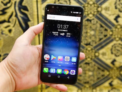 Prime X Max 2017 - smartphone Việt màn hình tràn viền xuất sắc ảnh 5