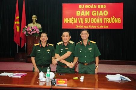 Bổ nhiệm Tư lệnh Bộ Tư lệnh TPHCM, Sư đoàn trưởng Sư đoàn 5 ảnh 1