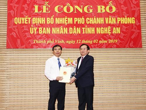 Nhân sự mới Quảng Ninh, Nghệ An, Sóc Trăng ảnh 1