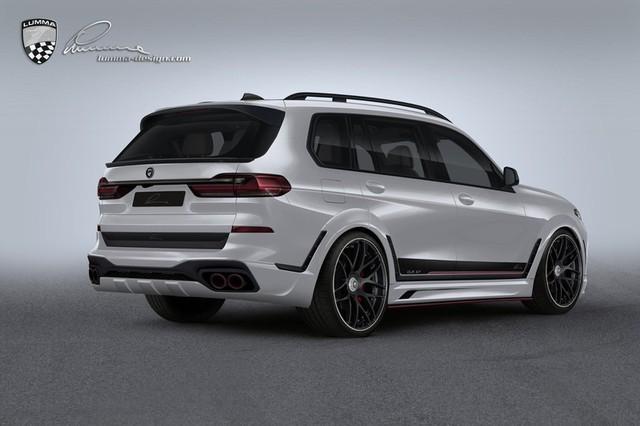 """BMW X7 """"ngầu"""" hơn với phụ kiện của Lumma Design ảnh 1"""
