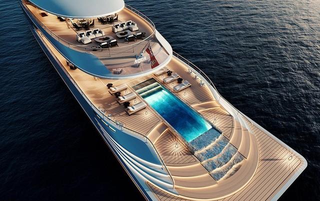 Tỷ phú Bill Gates chi 645 triệu USD mua siêu du thuyền sang trọng ảnh 1
