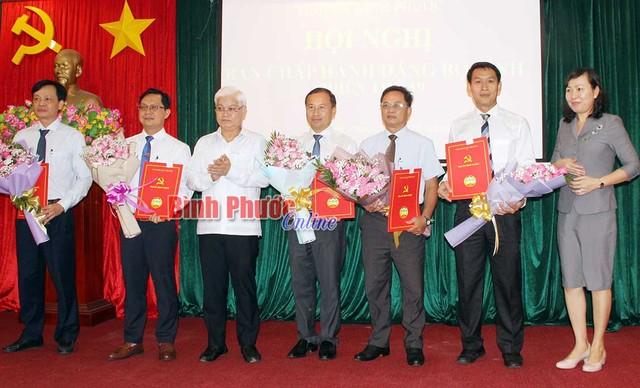 Ban Bí thư Trung ương Đảng chuẩn y nhân sự mới tỉnh Bình Phước ảnh 1