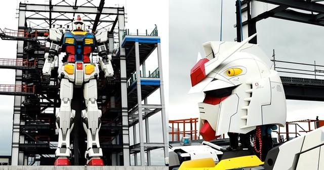 Nhật Bản chế tạo robot khổng lồ cao gần 20 m có thể tự bước đi, di chuyển ảnh 1