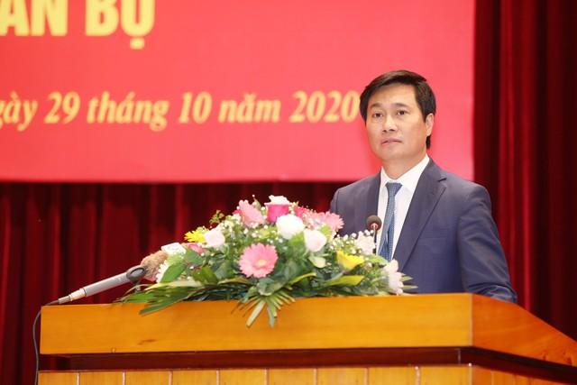 Thứ trưởng Bộ Xây được điều động làm Phó Bí thư Tỉnh ủy Quảng Ninh ảnh 1