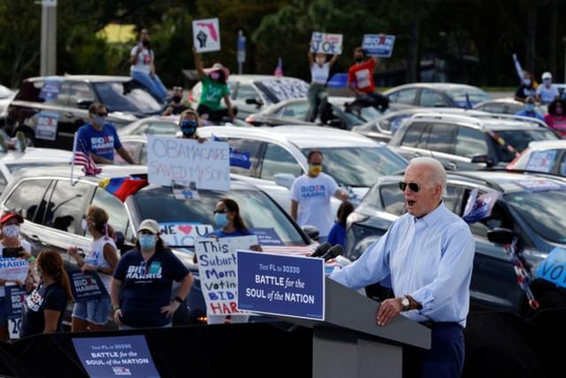 5 ngày trước bầu cử Mỹ: Đảng Cộng hòa thu hẹp khoảng cách ở 4 bang chiến địa ảnh 1