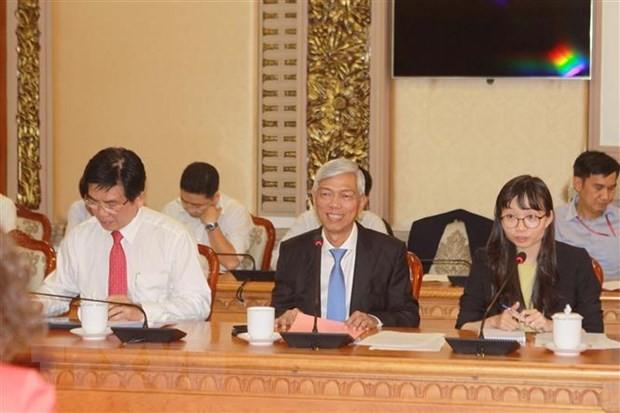 Thành phố Hồ Chí Minh đẩy nhanh tiến độ các dự án hợp tác với WB ảnh 1
