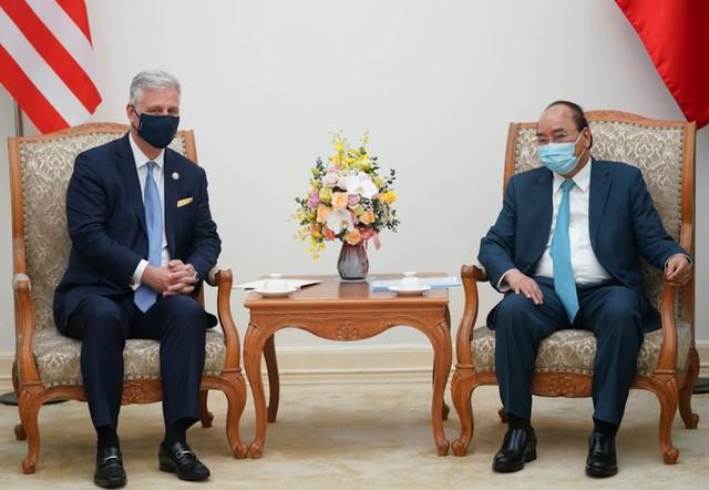 Thủ tướng Chính phủ Nguyễn Xuân Phúc tiếp Cố vấn An ninh quốc gia Hoa Kỳ Robert O'Brien ảnh 1