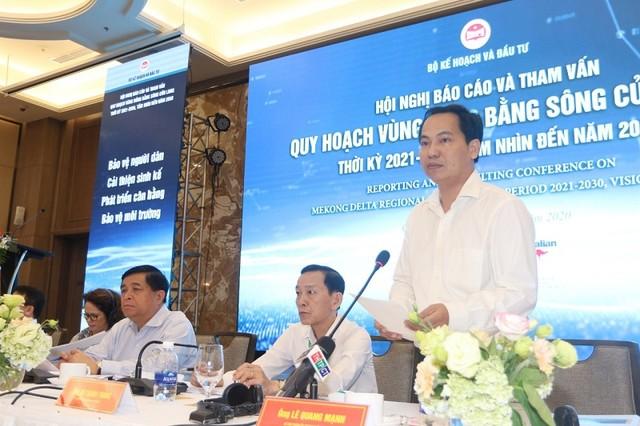 Quy hoạch Vùng Đồng bằng sông Cửu Long: Mục đích cuối cùng là nụ cười và hạnh phúc của người dân ảnh 1