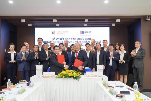 Tập đoàn Hưng Thịnh và Hưng Thịnh Incons ký kết hợp tác chiến lược cùng tập đoàn Đèo Cả ảnh 1