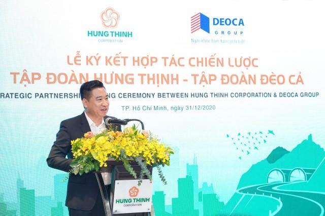 Tập đoàn Hưng Thịnh và Hưng Thịnh Incons ký kết hợp tác chiến lược cùng tập đoàn Đèo Cả ảnh 2