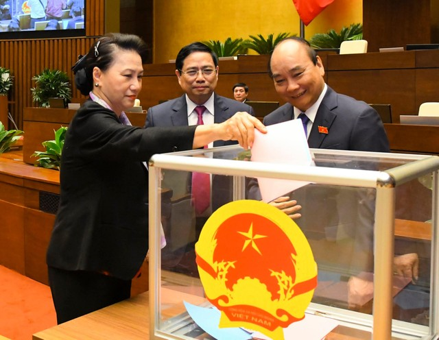 Chính phủ có hai Phó Thủ tướng mới là các ông Lê Minh Khái, Lê Văn Thành ảnh 1