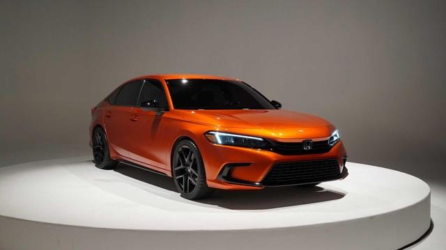 Honda Civic 2022 xuất hiện trước ngày ra mắt với kiểu dáng hoàn toàn mới ảnh 1