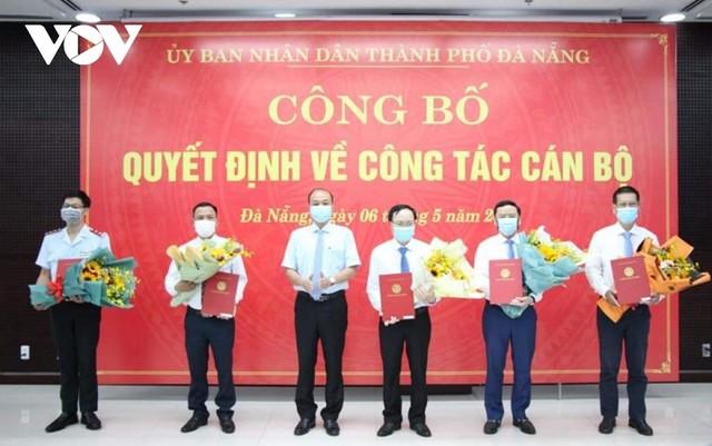 Đà Nẵng bổ nhiệm Giám đốc Sở Xây dựng và hàng loạt cán bộ chủ chốt ảnh 1
