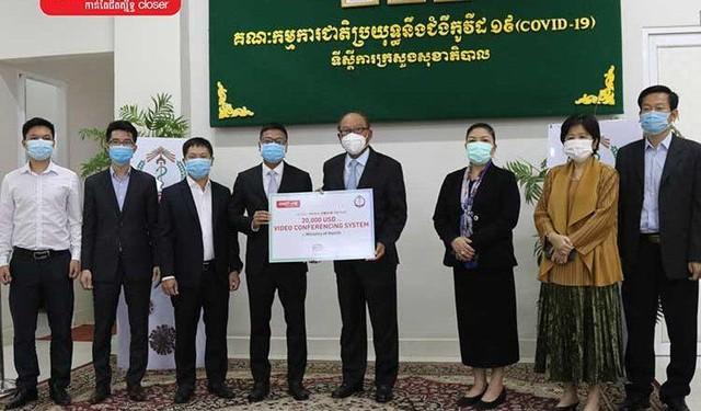 Metfone - Chiếc cầu nối phát triển kinh tế, xã hội của Việt Nam và Campuchia ảnh 1