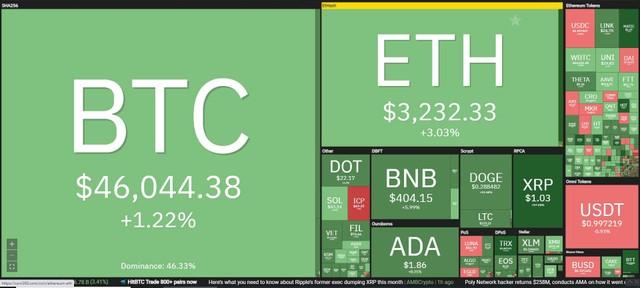Giá Bitcoin hôm nay ngày 12/8: Giới đầu tư tiếp tục đặt cược niềm tin vào Bitcoin, mùa altcoin đang đến? ảnh 1