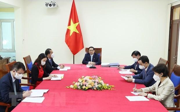 Thủ tướng đề nghị COVAX phân bổ nhanh vaccine dành cho Việt Nam ảnh 1