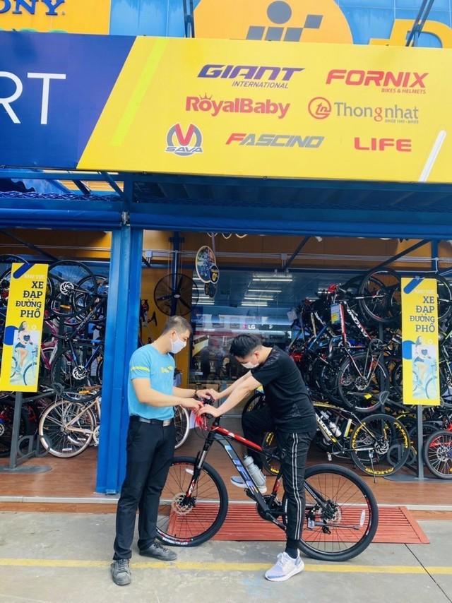 Thế Giới Di Động tăng tốc mở shop xe đạp, kỳ vọng doanh thu 400 tỷ ảnh 1