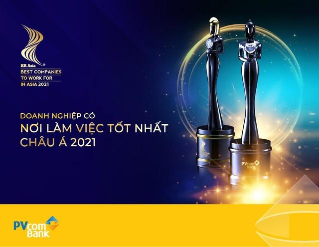 """HR Asia Magazine vinh danh PVcomBank là """"Nơi làm việc tốt nhất châu Á 2021"""" ảnh 1"""