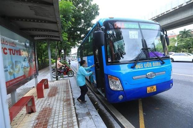 Hà Nội hướng dẫn tổ chức lại vận tải hành khách công cộng ảnh 1