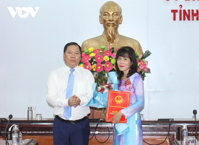 Bổ nhiệm Giám đốc, Phó giám đốc Sở Du lịch tỉnh Bình Định ảnh 1