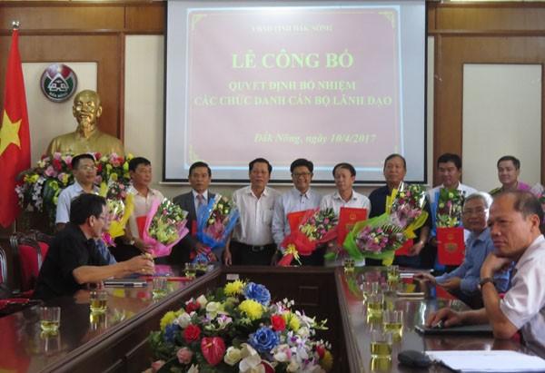 Bổ nhiệm nhân sự Bộ Thông tin và Truyền thông, Hà Nội, Đắk Nông ảnh 1