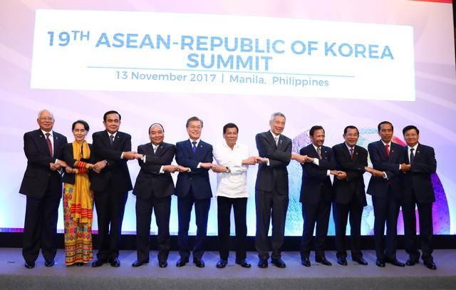 Thủ tướng dự Hội nghị cấp cao ASEAN với Hoa Kỳ, Trung Quốc, Hàn Quốc, Nhật Bản ảnh 4
