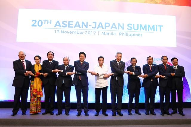 Thủ tướng dự Hội nghị cấp cao ASEAN với Hoa Kỳ, Trung Quốc, Hàn Quốc, Nhật Bản ảnh 5