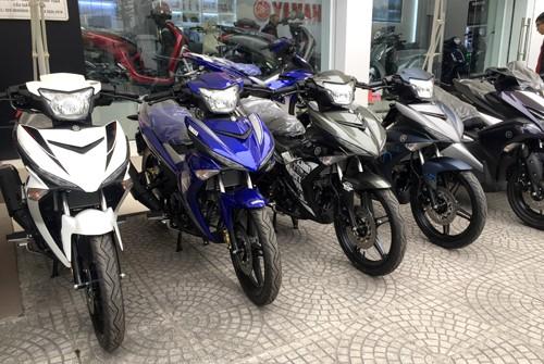 Xe máy Yamaha giảm giá nhẹ tại TP. HCM so với trước.