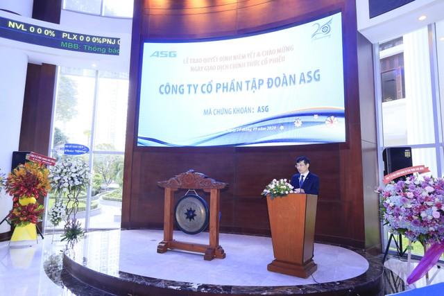 Hơn 63 triệu cổ phiếu ASG chính thức niêm yết trên HOSE ảnh 2
