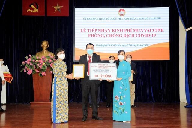 Khang Điền ủng hộ 20 tỷ đồng mua vaccine phòng chống dịch Covid-19 ảnh 2
