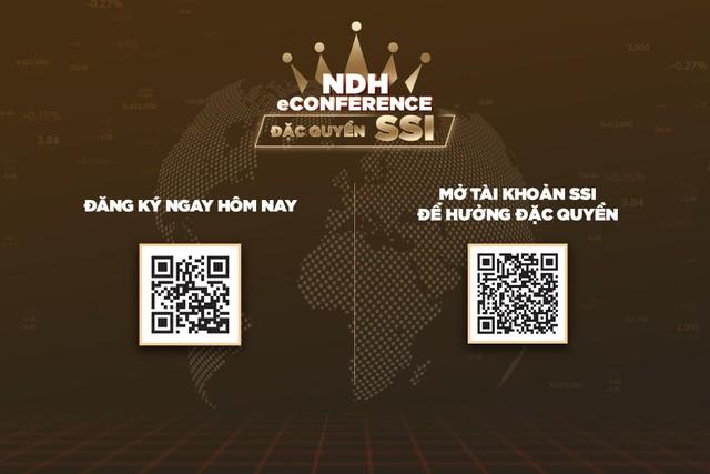 """NDH eConference – Chương trình tư vấn """"đặc quyền cho Nhà đầu tư của SSI"""" ảnh 2"""