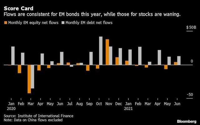 Các nhà đầu tư ở thị trường mới nổi đổ tiền vào trái phiếu vì biến thể delta lan rộng ảnh 1
