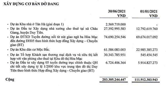 Nhà và Đô thị Nam Hà Nội (NHA): 6 tháng lãi sau thuế hơn 1 tỷ đồng, chỉ hoàn thành 2,3% kế hoạch năm ảnh 1