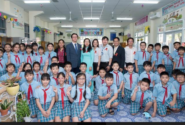 Khánh thành thư viện sách do KBS tài trợ ảnh 1