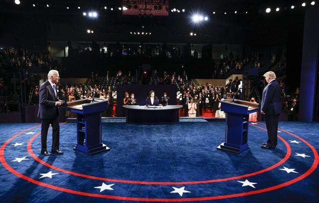 Ông Trump một lần nữa thua cuộc trước Joe Biden trong phiên tranh luận cuối cùng ảnh 1
