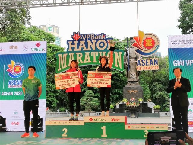 VPBank Hanoi Marathon ASEAN 2020 sôi động với nhiều thành tích ấn tượng ảnh 1